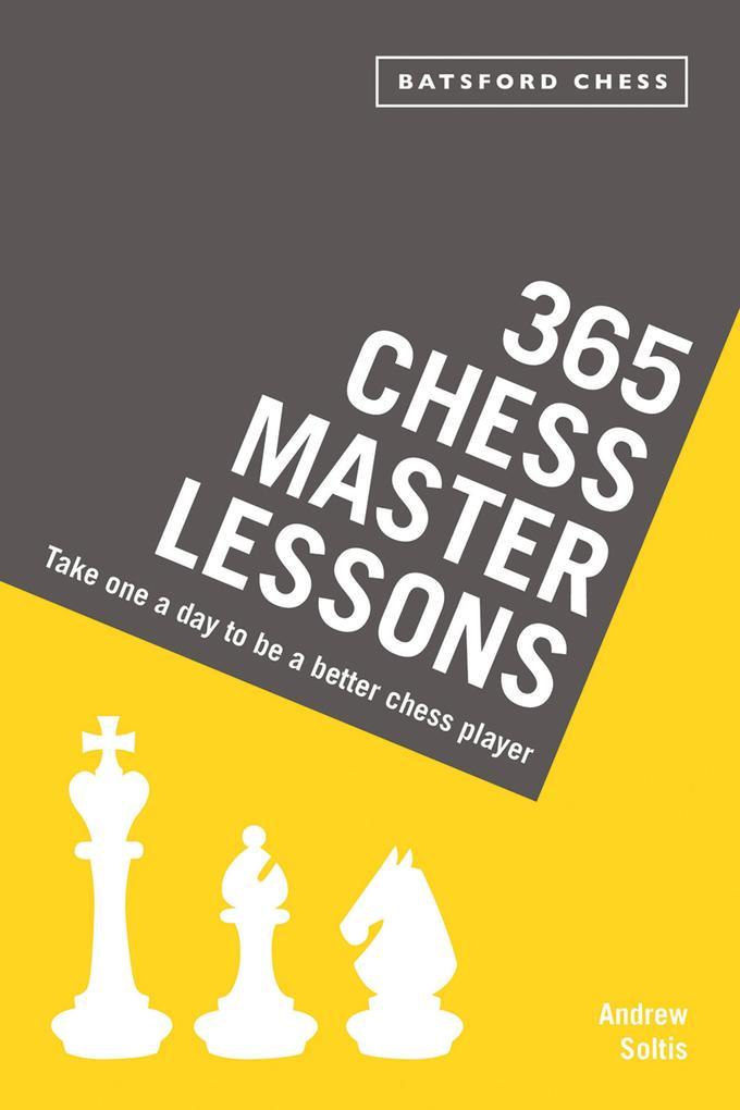 365 Chess Master Lessons als eBook Download von...