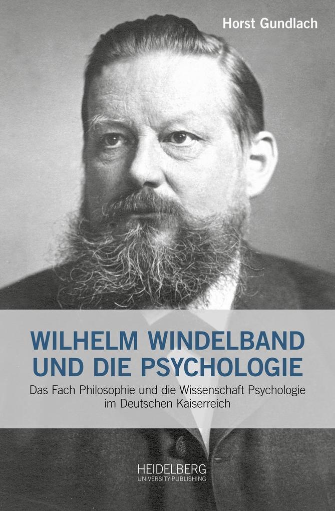 Wilhelm Windelband und die Psychologie als Buch...