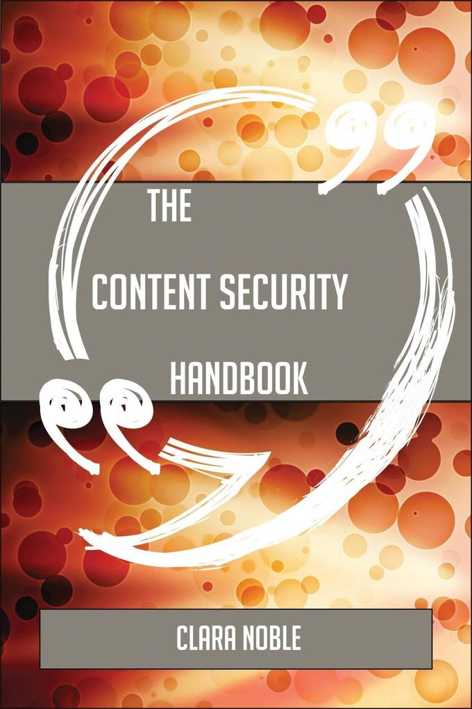 The Content security Handbook - Everything You ...