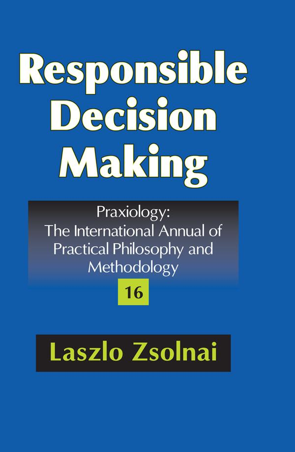 Responsible Decision Making als eBook Download von