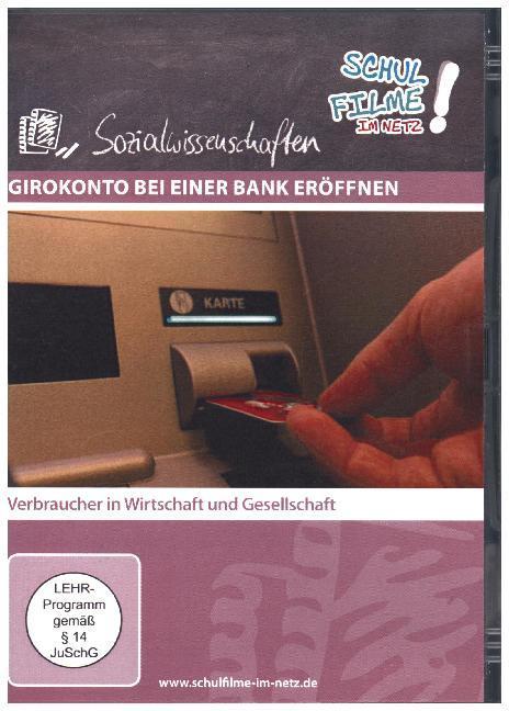 Vorschaubild von Girokonto bei einer Bank eröffnen, 1 DVD