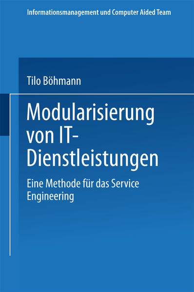 Modularisierung von IT-Dienstleistungen als Buc...