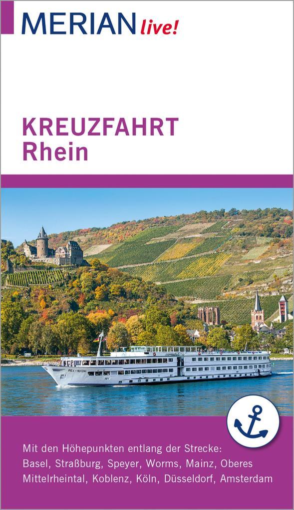 MERIAN live! Reiseführer Kreuzfahrt Rhein als e...