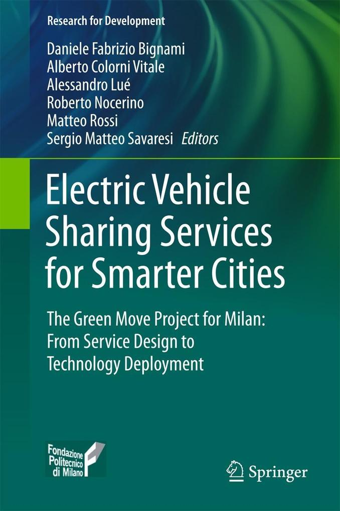 Electric Vehicle Sharing Services for Smarter C...