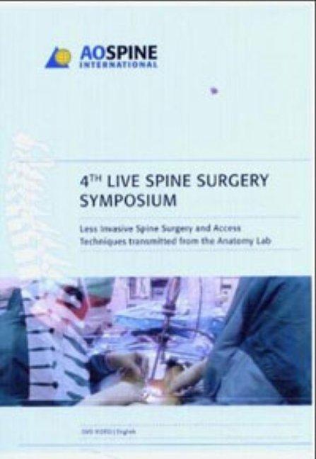 Live Spine Surgery 2004 - DVD
