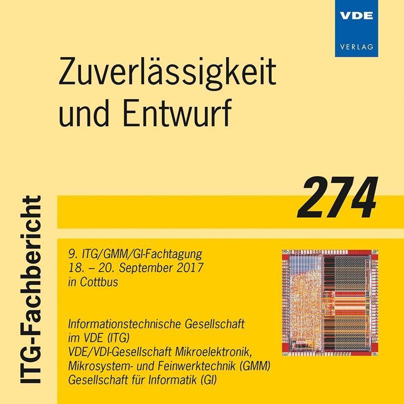 ITG-Fb. 274: Zuverlässigkeit und Entwurf