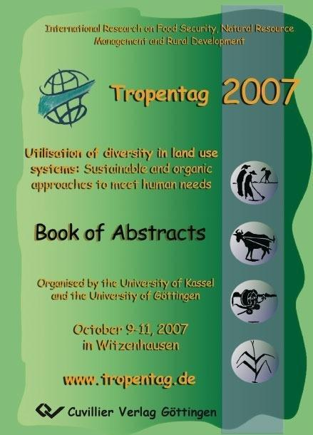 Tropentag 2007 als eBook Download von