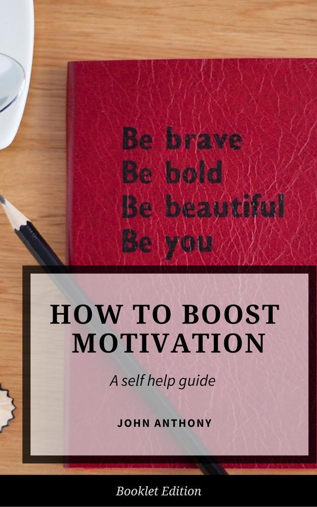 How to Boost Motivation (Self Help) als eBook D...