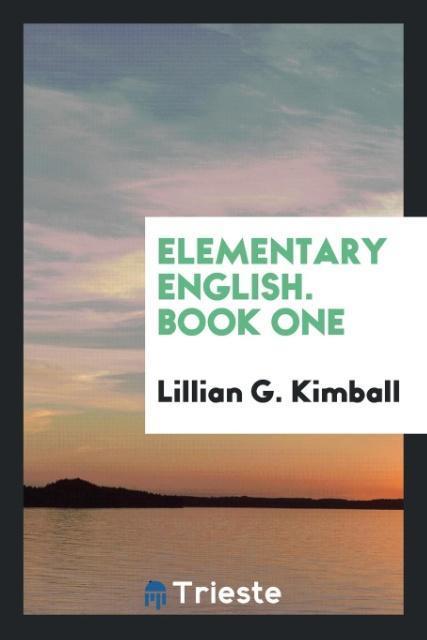 Elementary English. Book One als Taschenbuch vo...