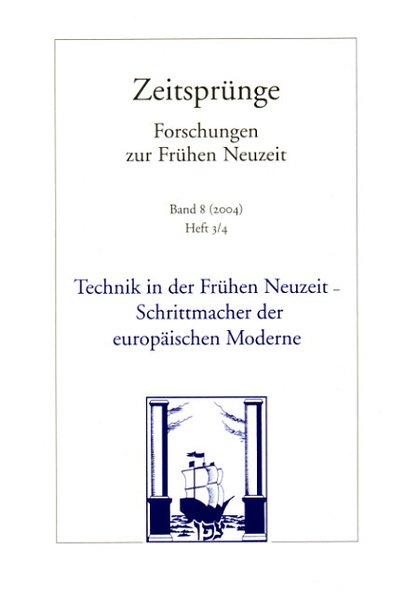 Technik in der Frühen Neuzeit als Buch von