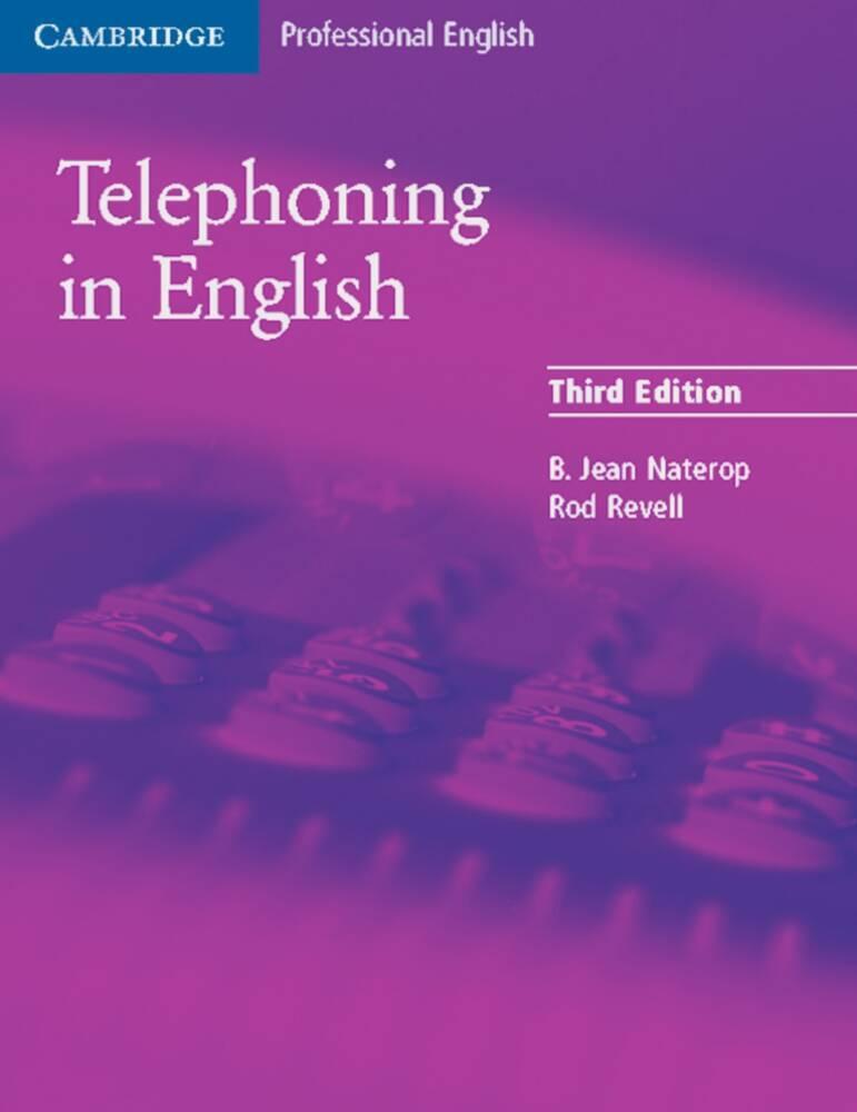 Telephoning in English. Students Book als Buch von