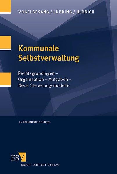Kommunale Selbstverwaltung als Buch von Klaus V...