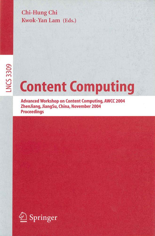Content Computing als Buch von