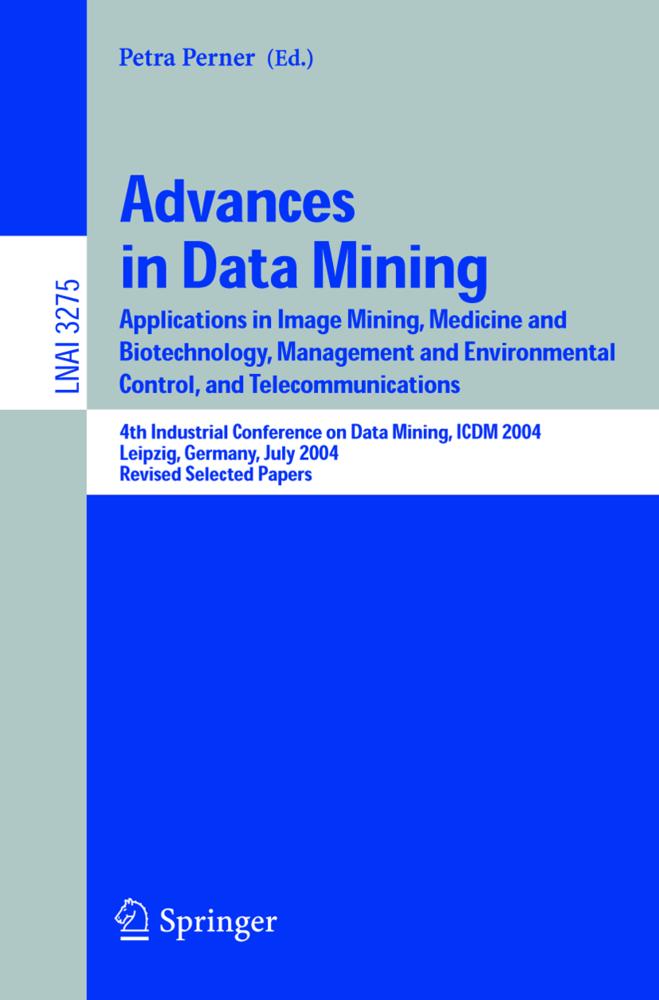 Advances in Data Mining als Buch von