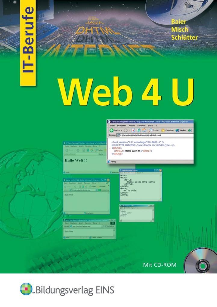 Web 4 U. Lehrbuch als Buch von Klaus Baier, Jen...