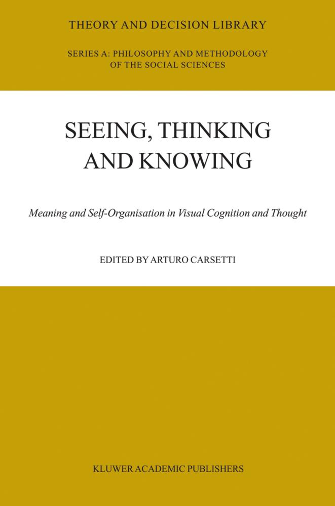 Seeing, Thinking and Knowing als Buch von