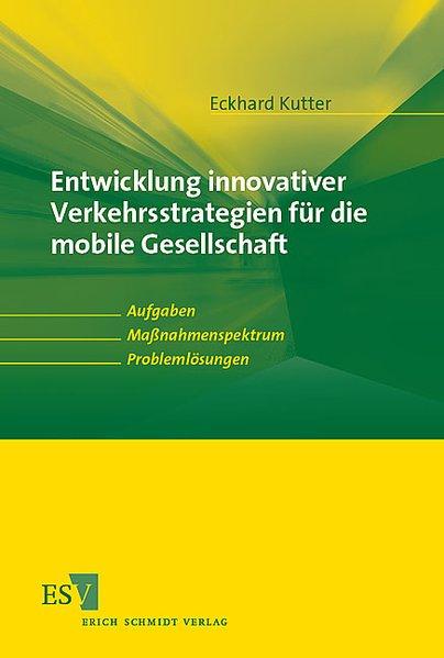 Entwicklung innovativer Verkehrsstrategien für ...