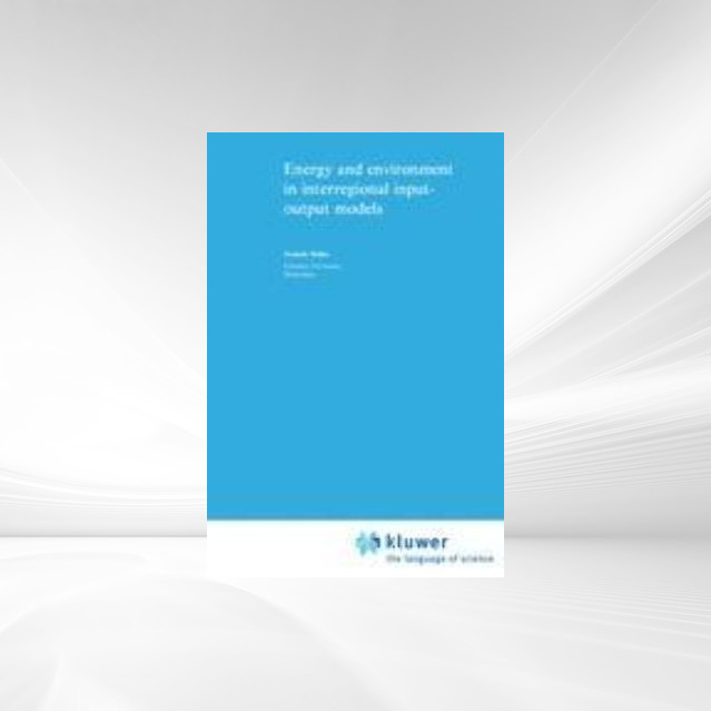 Energy and Environment in Interregional Input-O...