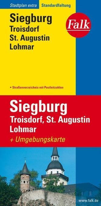 Falk Stadtplan Extra Standardfaltung Siegburg, ...