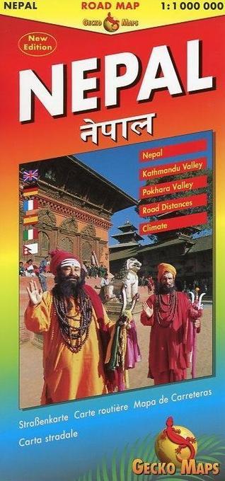 Nepal Road Map als Buch von Arne Rohweder