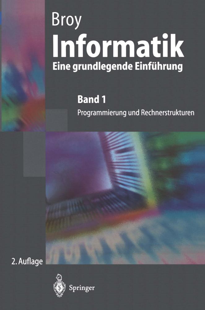 Informatik 1. Programmierung und Rechnerstruktu...