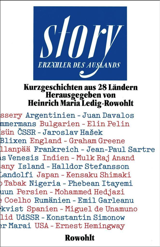 story. Erzähler des Auslands als Buch von Alber...