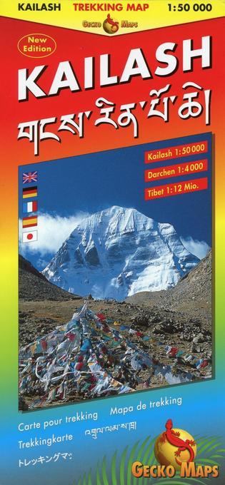 Kailash Trekking Map als Buch von Arne Rohweder