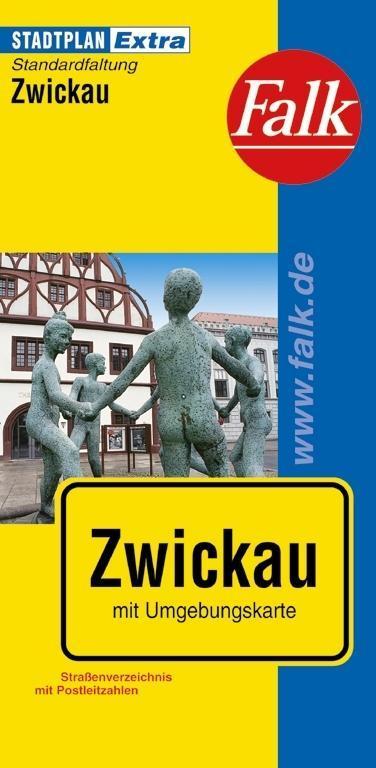 Falk Stadtplan Extra Standardfaltung Zwickau al...