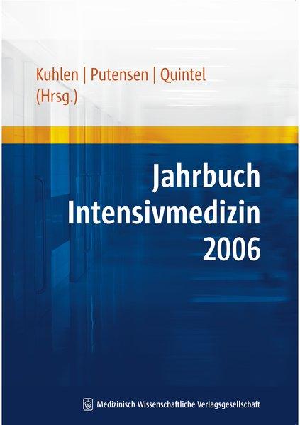 Jahrbuch Intensivmedizin 2006 als Buch von