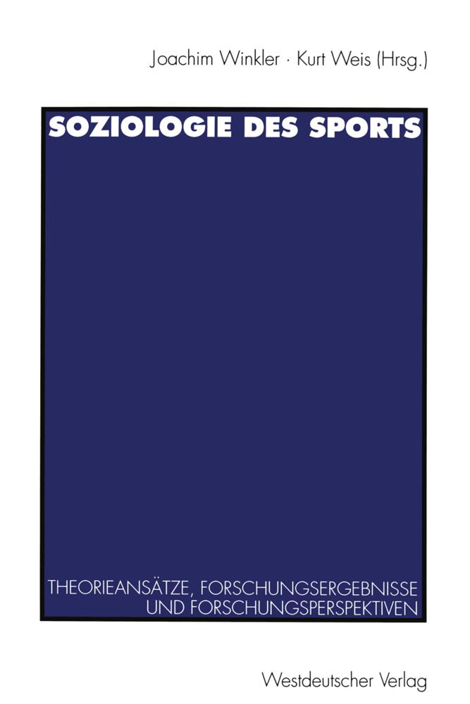 Soziologie des Sports als Buch von