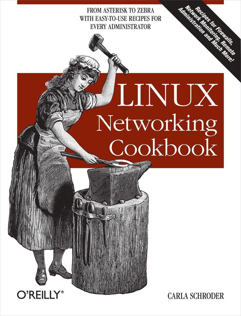 Linux Networking Cookbook als Buch von Carla Sc...
