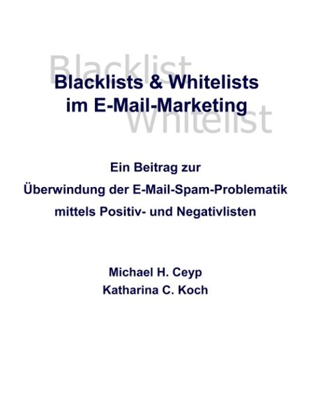 Blacklists und Whitelists im E-Mail-Marketing a...