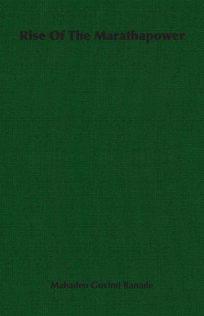Rise of the Marathapower als Taschenbuch von Ma...