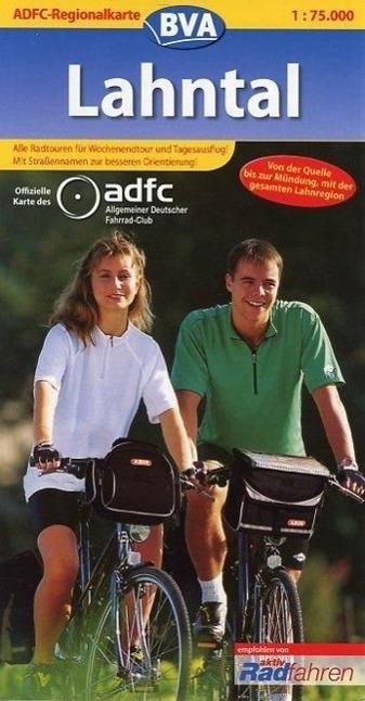 ADFC-Regionalkarte Lahntal 1 : 75 000 als Buch von