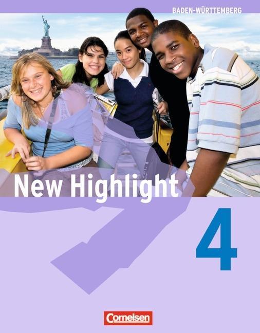 New Highlight 4: 8. Schuljahr. Schülerbuch. Bad...