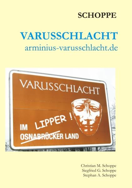 Varusschlacht als Buch von Christian Schoppe, S...