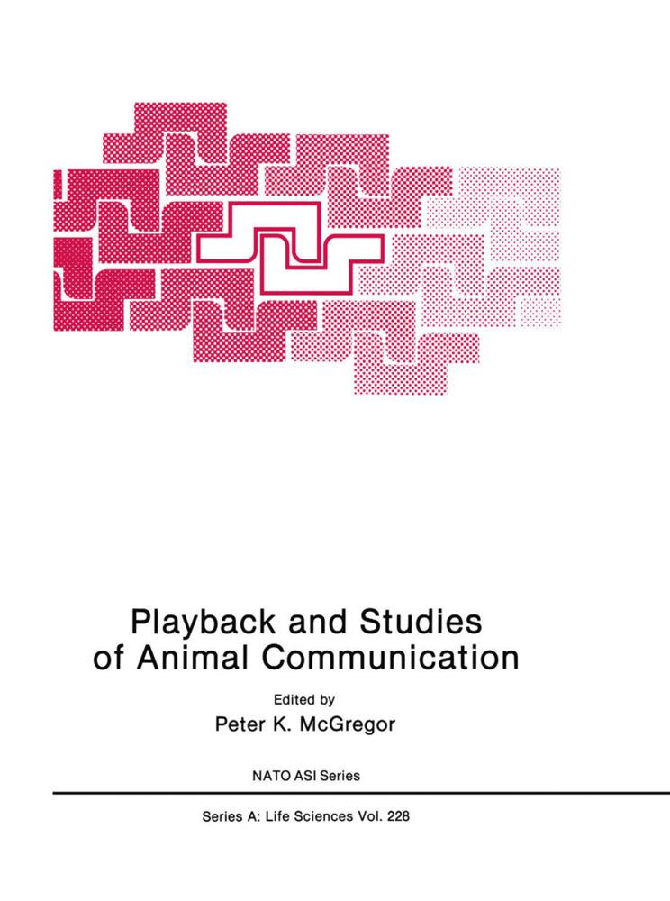 Playback and Studies of Animal Communication al...