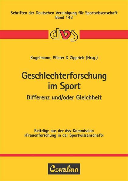 Geschlechterforschung im Sport als Buch von