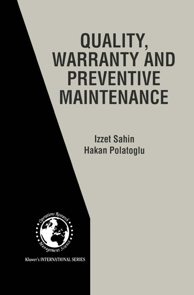 Quality, Warranty and Preventive Maintenance al...