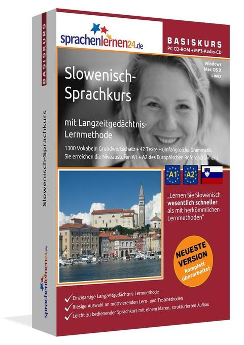 Sprachenlernen24.de Slowenisch-Basis-Sprachkurs...