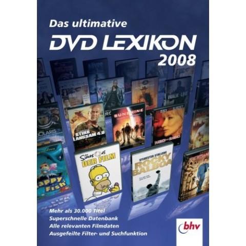 Das ultimative DVD Lexikon 2008 für Windows 200...