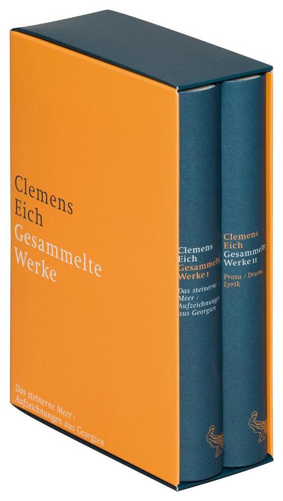 Gesammelte Werke als Buch von Clemens Eich