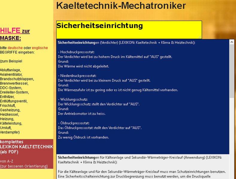 CD-ROM Wörterbuch für den Mechatroniker/-Kältet...