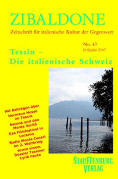 Tessin - Die italienische Schweiz als Buch von