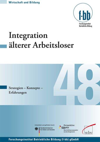 Integration älterer Arbeitsloser als Buch von