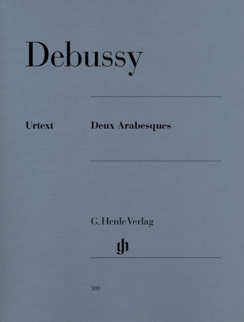 Deux Arabesques als Buch von Claude Debussy