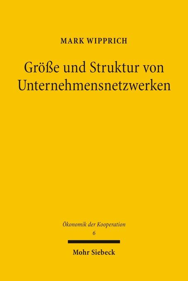 Größe und Struktur von Unternehmensnetzwerken a...