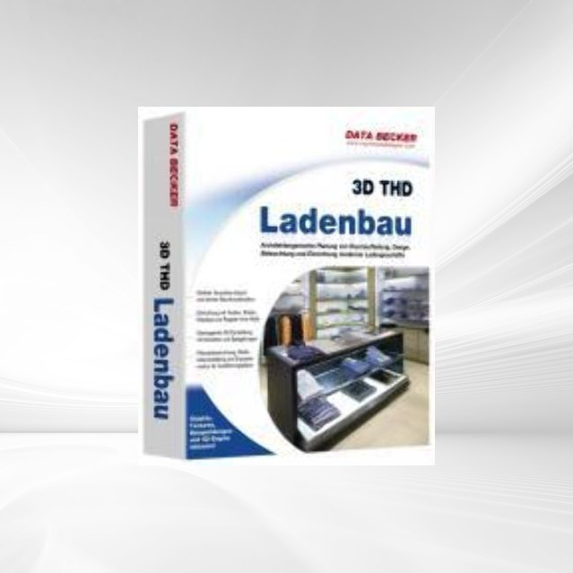 Aprisoft 3D THD Ladenbau. CD-ROM für Windows Vi...