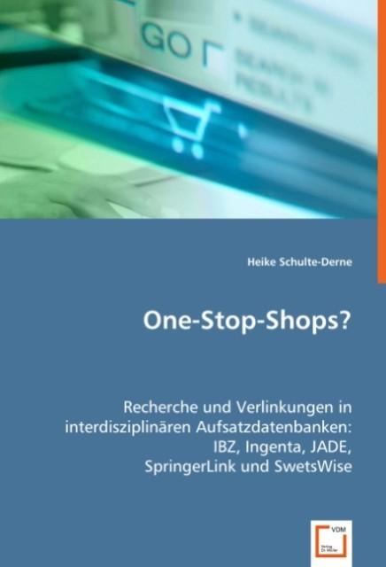 One-Stop-Shops? als Buch von Heike Schulte-Derne