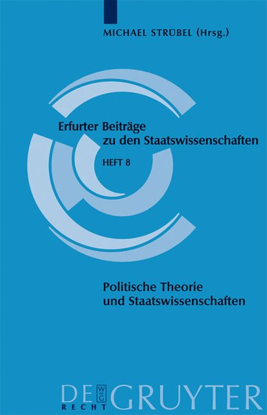Politische Theorie und Staatswissenschaften als...